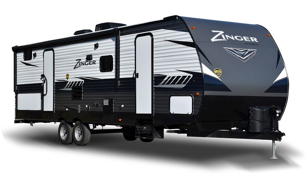 5. Crossroads Zinger travel trailer