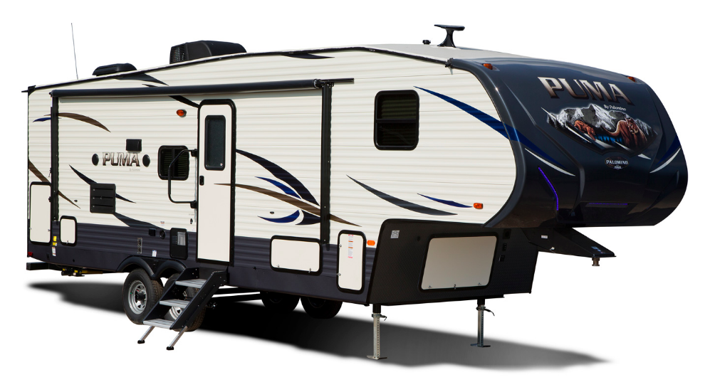 2. Palomino Puma Travel Trailer