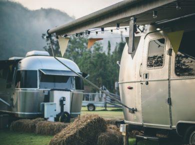 Large Airstream Trailer