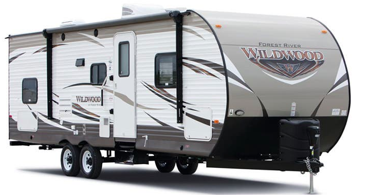 Forest River RV Wildwood 31KQBTS Trailer with slide outs