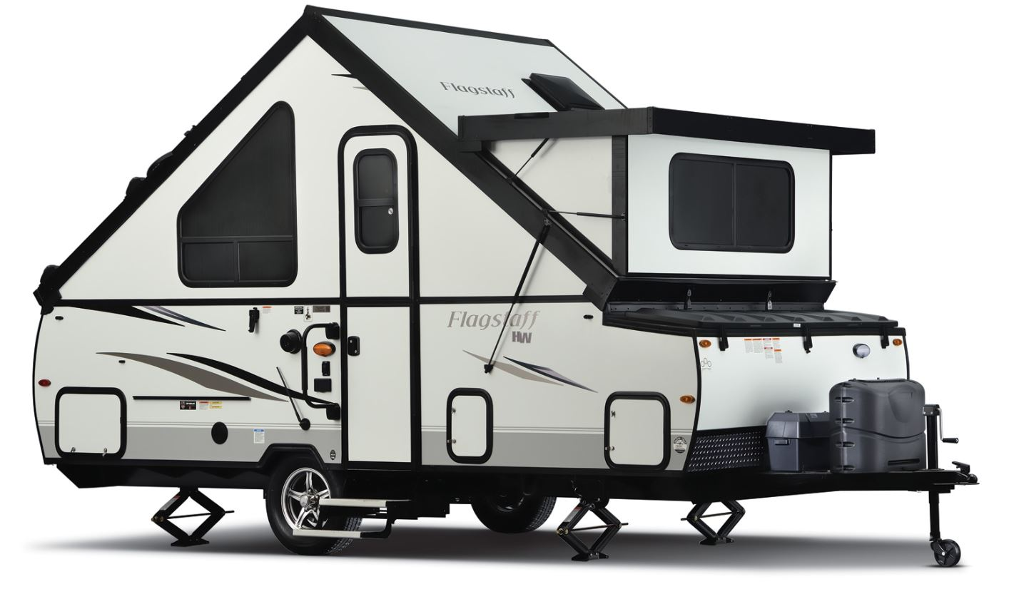 Forest river hard sided pop up camper