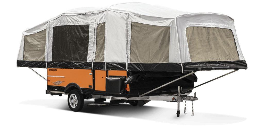 LivinLite Quicksilver Pop Up Tent Trailer