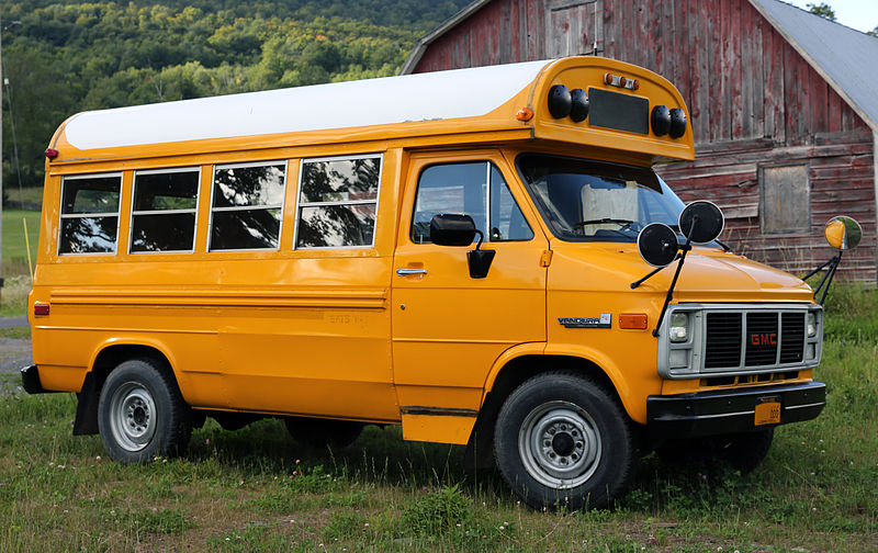 1990 GMC Vandura short bus